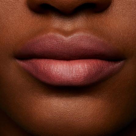 MAC Powder Kiss Liquid Lipcolour Over The Taupe