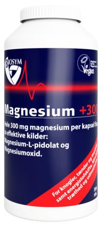 Biosym Magnesium+300 300 kapsler