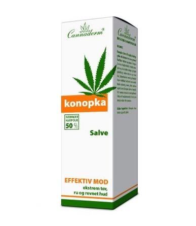 Cannaderm Konopka Salve 75 g