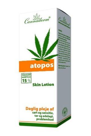 Cannaderm Atopos Skin Lotion 150 ml