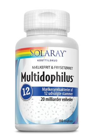 Solaray Multidophilus 12 100 vegetabilske kapsler