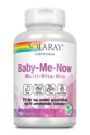 Solaray Baby-Me-Now 150 Tabletter