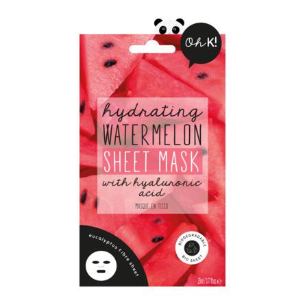 Oh K! Hydrating Watermelon Sheet Mask 20 ml