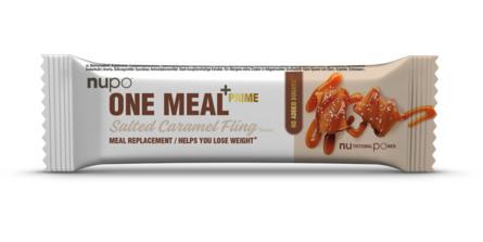 Nupo +Prime Bar Salted Caramel Fling 64 g.