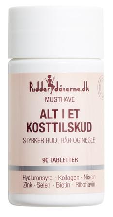 Pudderdåserne.dk Alt i et Kosttilskud 90 tabl.