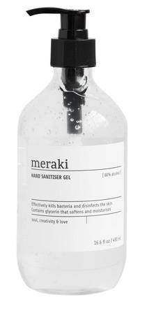 Meraki Desinfektionsgel 80% 490 ml.