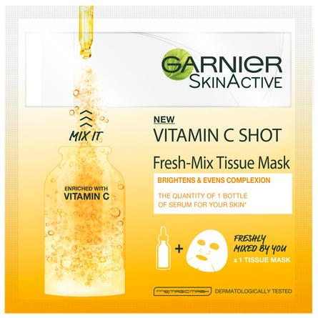 Garnier Fresh Mix Tissue Mask Vitamin C 1 stk