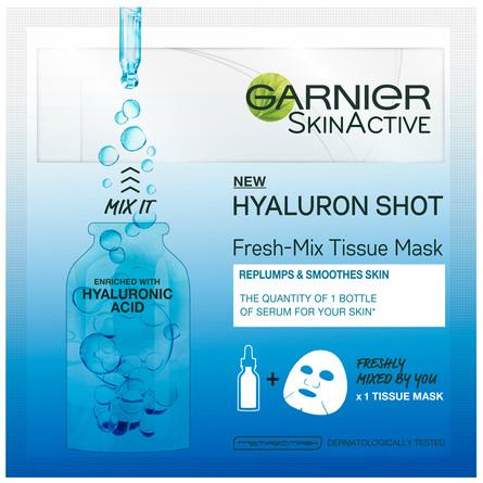 Garnier Fresh Mix Tissue Mask Hyaluronsyre 1 stk