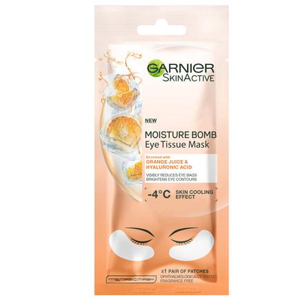Garnier Hydra Bomb Eye Tissue ´Mask Orange Juice Anti-dark circles 1 stk