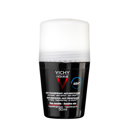 Vichy Homme 48H Anti-Perspirant Deo Roll On 50 ml