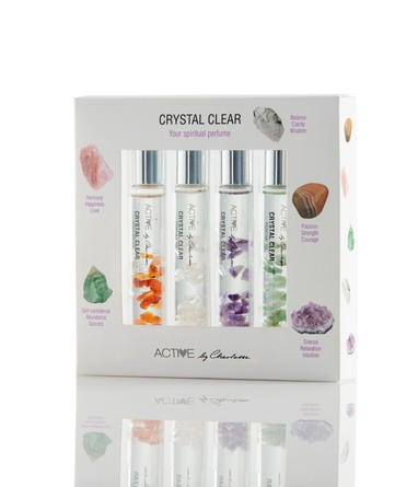 Active by Charlotte Crystal Clear Perfume Oil 10 ml x 4