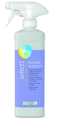 Sonett Glas- og Overfladerens 0,5 L