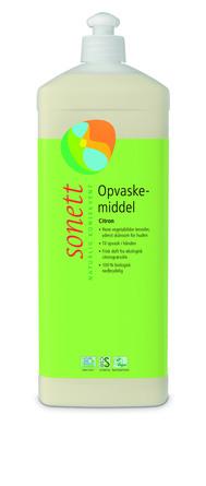 Sonett Opvaskemiddel Citron 1 L