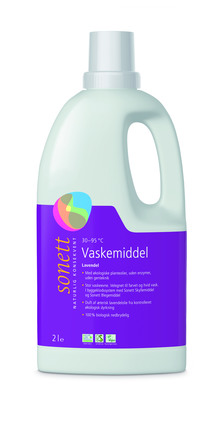 Sonett Vaskemiddel Lavendel Flydende 2 L