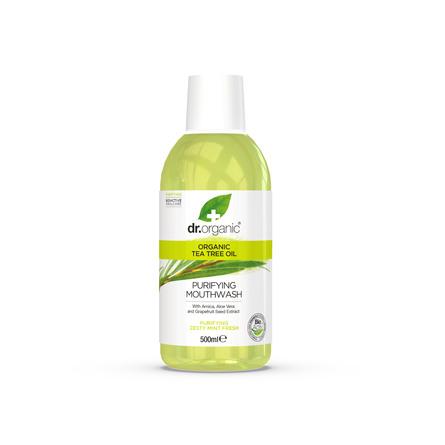 Dr. Organic Tea Tree Oil Mundvask 500 ml