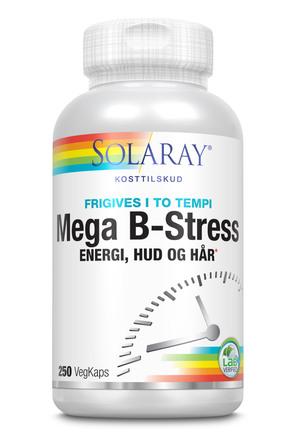 Solaray Mega B-Stress 250 Kapsler