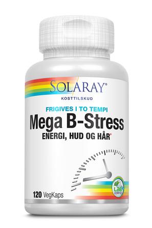 Solaray Mega B-Stress 120 kapsler
