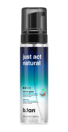b.tan Just Act Natural Self Tanning Water 200 ml