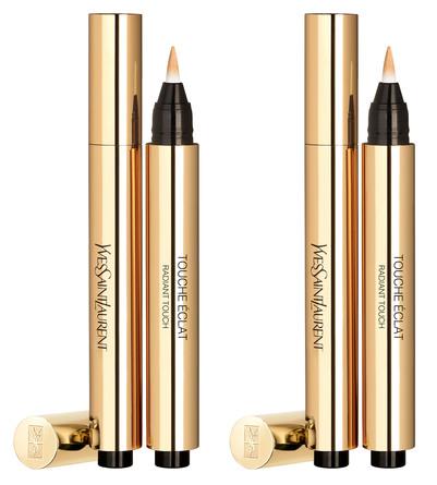 Yves Saint Laurent Touche Éclat Highlighter Pen Sæt 2 Ivory