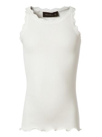 Rosemunde Silk Top Regular -Lace New White Str. 2 år