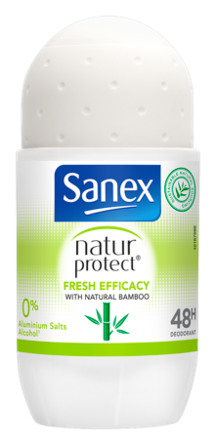 Sanex Deo roll-on Natur Protect Bamboo Fresh Efficacy 1 stk