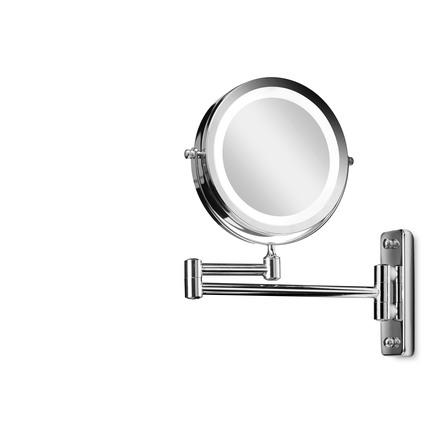 Gillian Jones LED Vægspejl Sølv