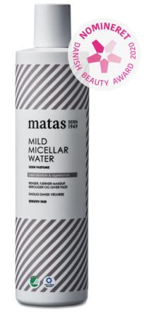 Matas Striber Mild Micellar Water til Sensitiv Hud Uden Parfume 500 ml