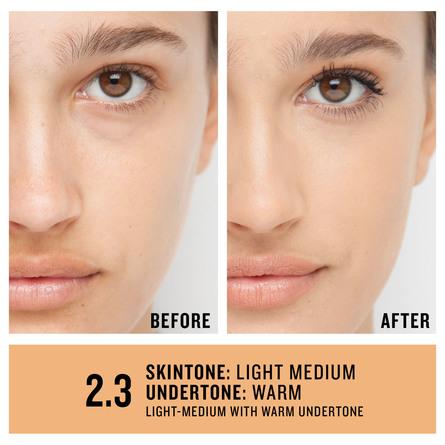 Smashbox Studio Skin 24H Wear Hydrating Foundation 2.3 Light-Medium With Warm Undertone