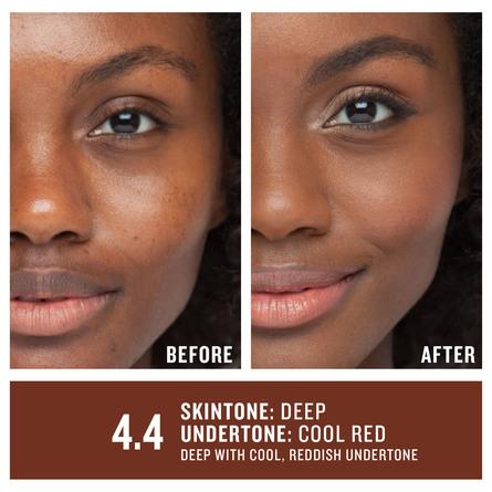 Smashbox Studio Skin 24H Wear Hydrating Foundation 4.4 Deep With Cool, Reddish Undertone