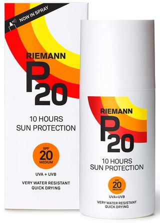 P20 Riemann Solbeskyttelse Spray SPF 20 200 ml
