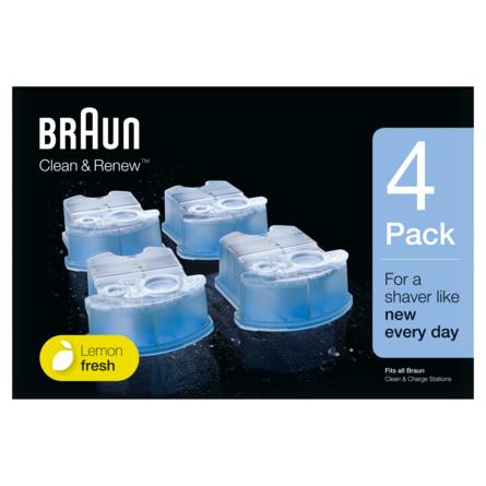 Braun CCR4 Clean & Renew Refill-Patroner 4 stk.