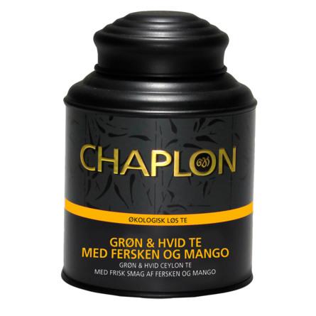 Chaplon Tea Fersken & Mango Økologisk Grøn & Hvid Te 160 g.