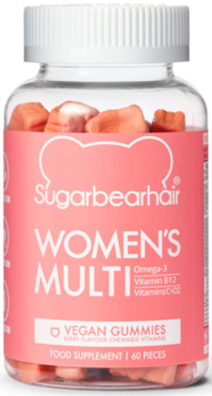 Sugarbearhair Womens Multi 60 stk