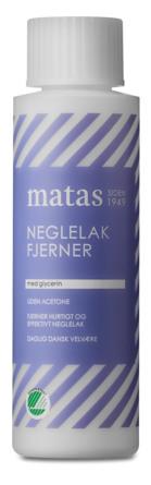 Matas Striber Neglelakfjerner uden Acetone og Parfume 100 ml