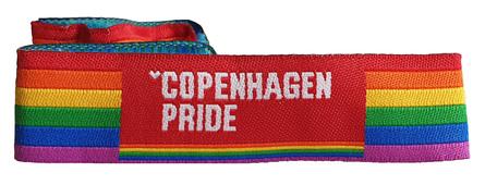 Copenhagen Pride Støttearmbånd Onesize