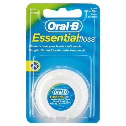 Oral-B Esssential tandtråd 50 m
