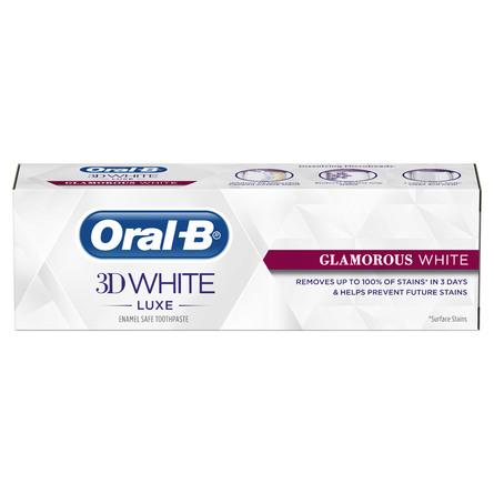 Oral-B 3D White Luxe Glamorous White-tandpasta 75 ml