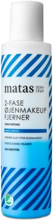 Matas Striber 2-fase Øjenmakeupfjerner til Alle Hudtyper Uden Parfume 125 ml