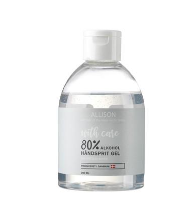 Allison Hånddesinfektiongel 80% 280 ml