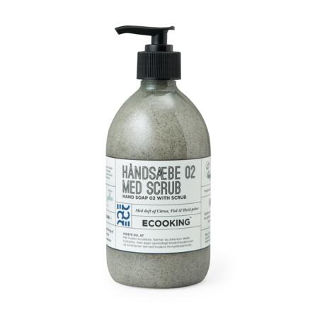 Ecooking Håndsæbe med Scrub 500 ml