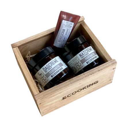 Ecooking Ansigtspleje Gaveæske Uden parfume