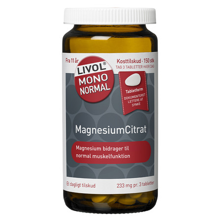 Livol MagnesiumCitrat 150 stk.