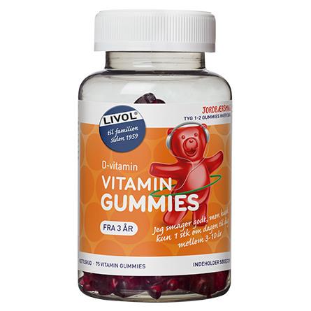 Livol Vitaminbjørne D-vitamin 75 stk.