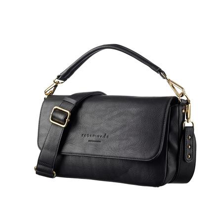 Rosemunde Håndtaske Sort Guld - Medium