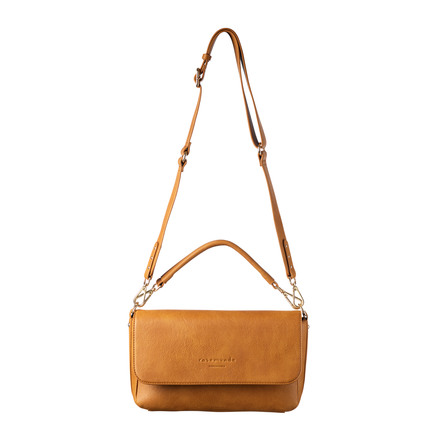 Rosemunde Håndtaske Gylden Mustard Guld - Medium