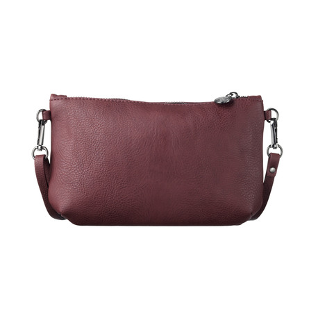 Rosemunde Clutch Bourgogne Sort Oxid