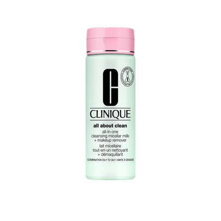 Clinique All-in-One Cleansing Micellar Milk + Makeup Remover Skin Type 1+2 200 ml