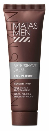 Matas Striber Men After Shave Balm til Sensitiv Hud Uden Parfume 50 ml, rejsestørrelse