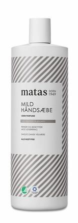 Matas Striber Mild Håndsæbe Uden Parfume 1000 ml