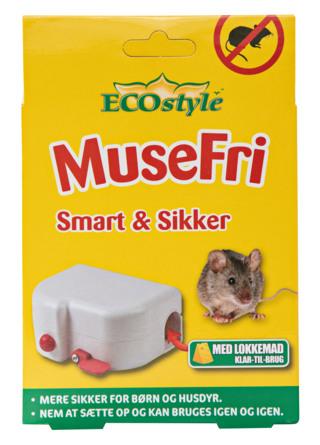 ECOstyle MuseFri Smart & Sikker Musefælde 1 stk.